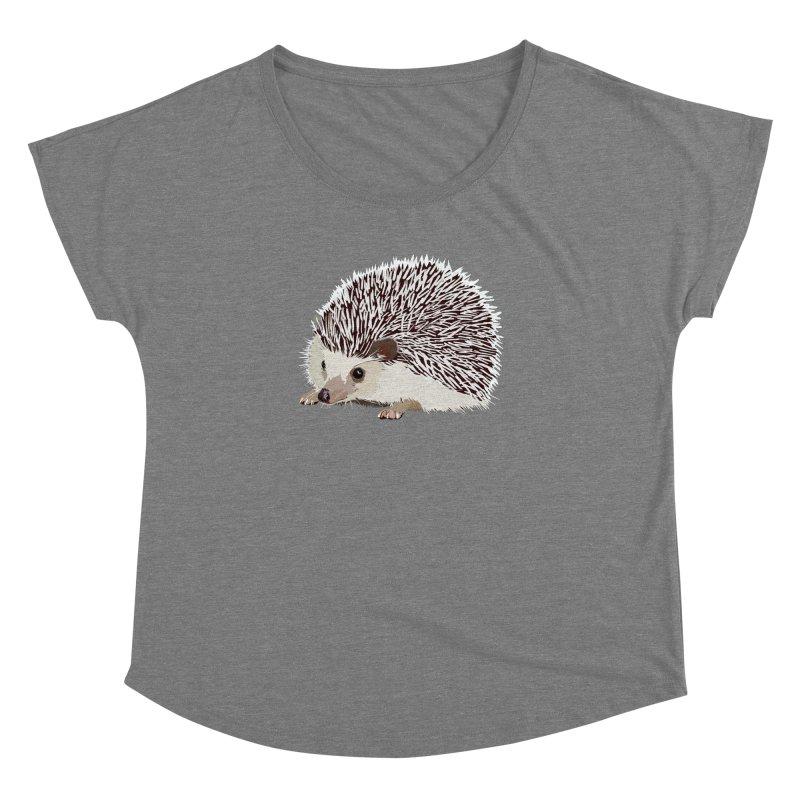 Happy Hedgehog Women's Dolman by DevilishDetails's Artist Shop