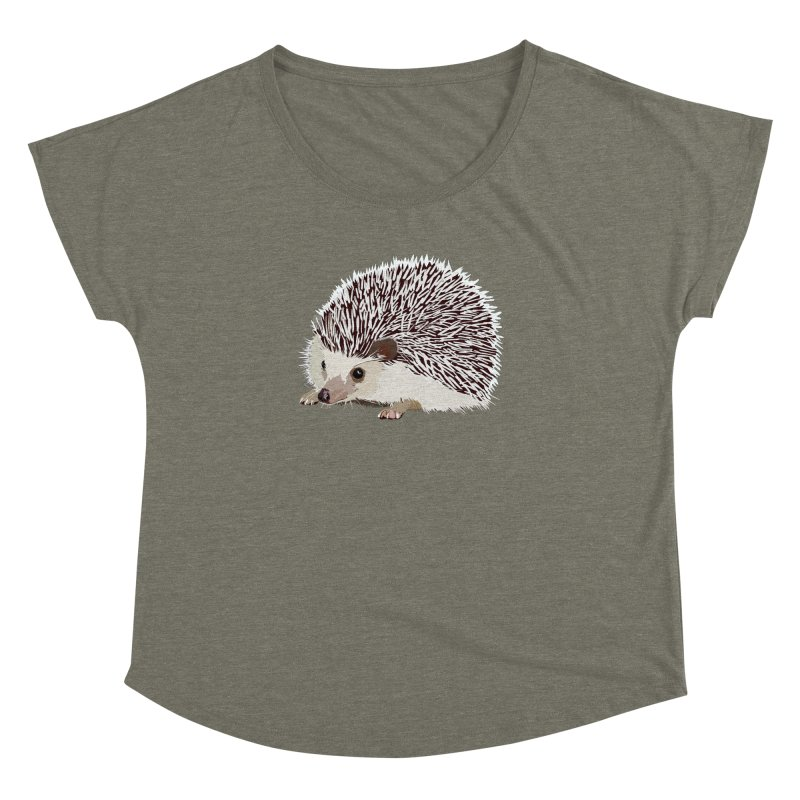 Happy Hedgehog Women's Dolman Scoop Neck by DevilishDetails's Artist Shop