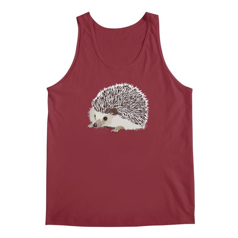 Happy Hedgehog Men's Tank by DevilishDetails's Artist Shop