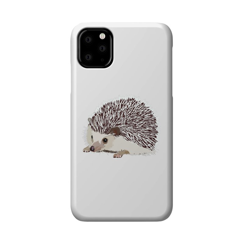 Happy Hedgehog Accessories Phone Case by DevilishDetails's Artist Shop