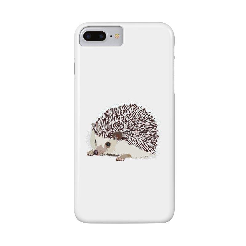 Happy Hedgehog Accessories Phone Case by DevilishDetails's Artist Shop