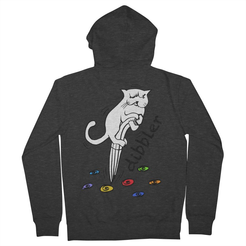 The Dashing Dibbler Women's French Terry Zip-Up Hoody by DevilishDetails's Artist Shop