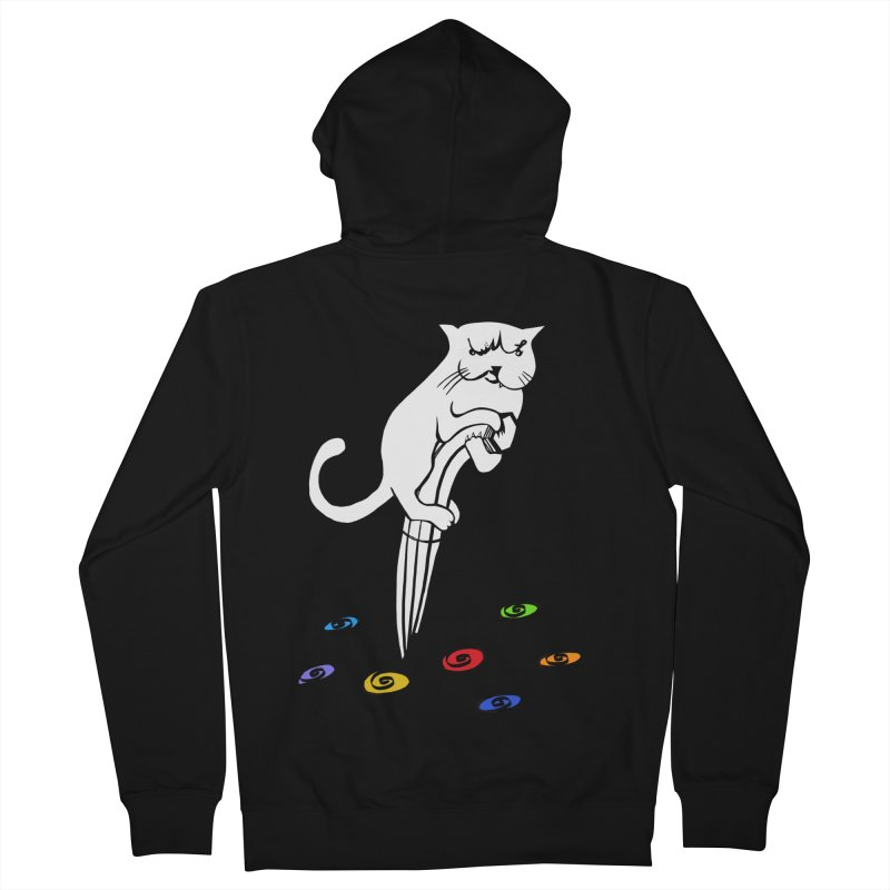 The Dashing Dibbler Men's French Terry Zip-Up Hoody by DevilishDetails's Artist Shop