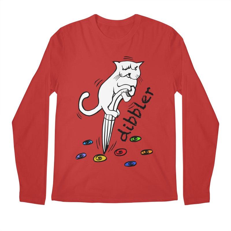 The Dashing Dibbler Men's Regular Longsleeve T-Shirt by DevilishDetails's Artist Shop