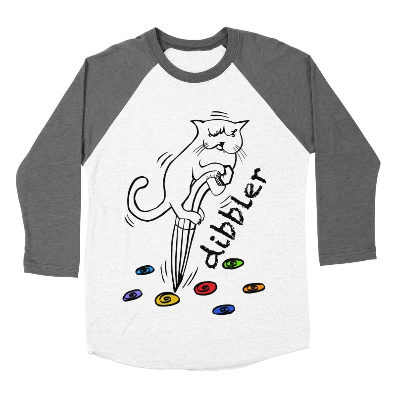 The Dashing Dibbler Men's Baseball Triblend Longsleeve T-Shirt by DevilishDetails's Artist Shop