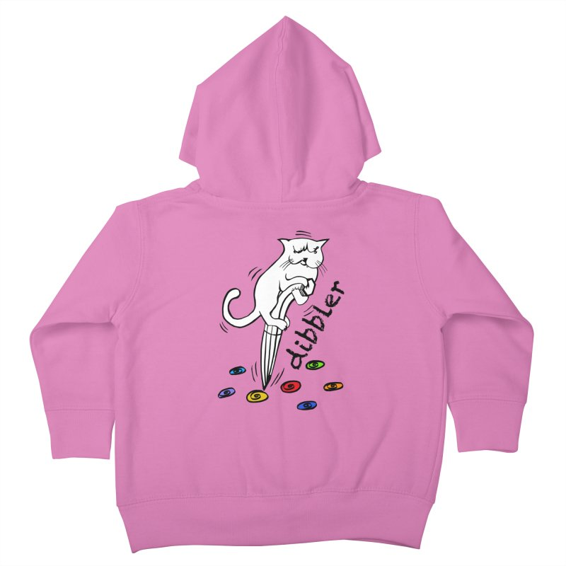 The Dashing Dibbler Kids Toddler Zip-Up Hoody by DevilishDetails's Artist Shop