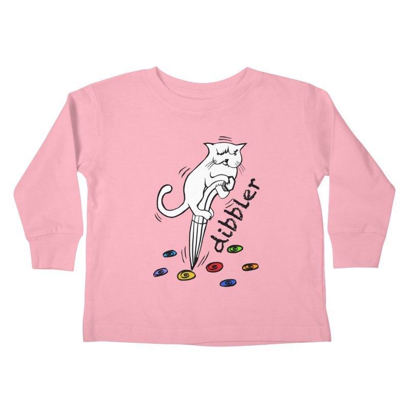 The Dashing Dibbler Kids Toddler Longsleeve T-Shirt by DevilishDetails's Artist Shop
