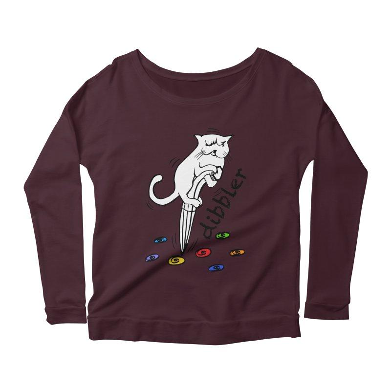 The Dashing Dibbler Women's Scoop Neck Longsleeve T-Shirt by DevilishDetails's Artist Shop