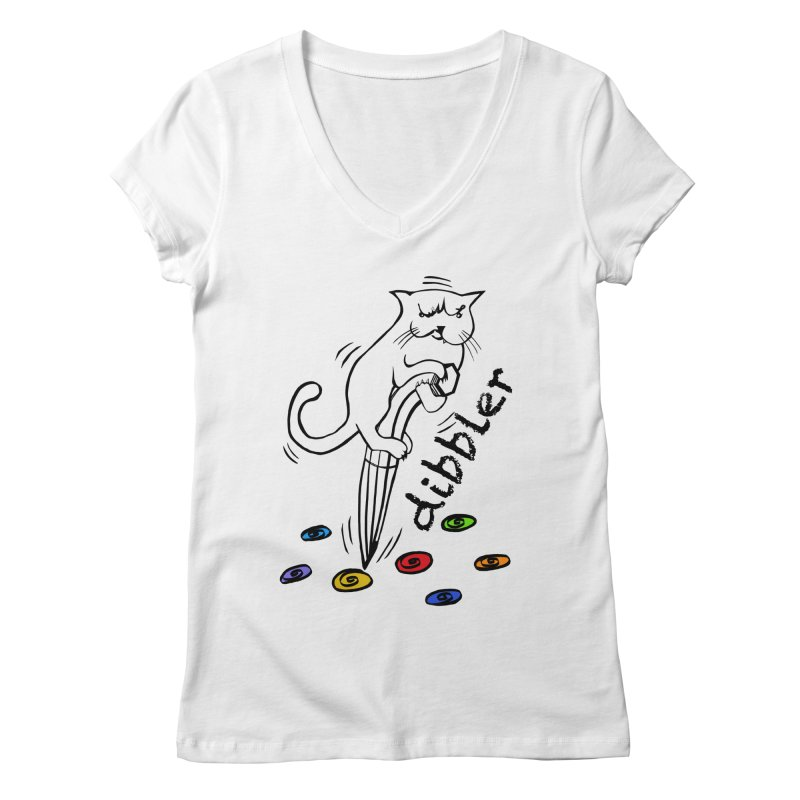 The Dashing Dibbler Women's V-Neck by DevilishDetails's Artist Shop