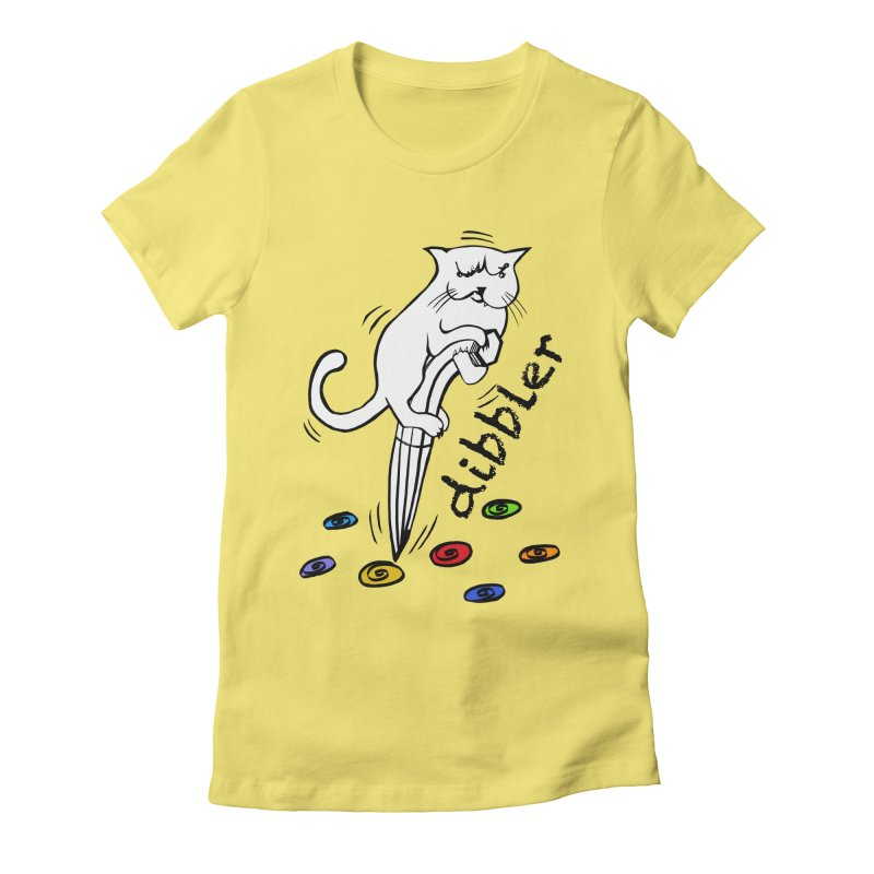 The Dashing Dibbler Women's Fitted T-Shirt by DevilishDetails's Artist Shop