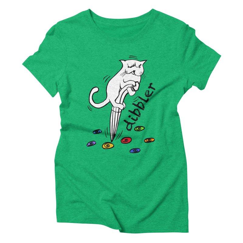 The Dashing Dibbler Women's Triblend T-shirt by DevilishDetails's Artist Shop
