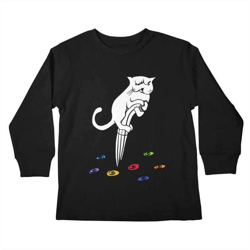 The Dashing Dibbler Kids Longsleeve T-Shirt by DevilishDetails's Artist Shop