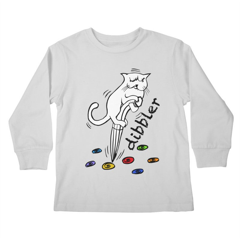 The Dashing Dibbler Kids Longsleeve T-Shirt by DevilishDetails's Artist Shop