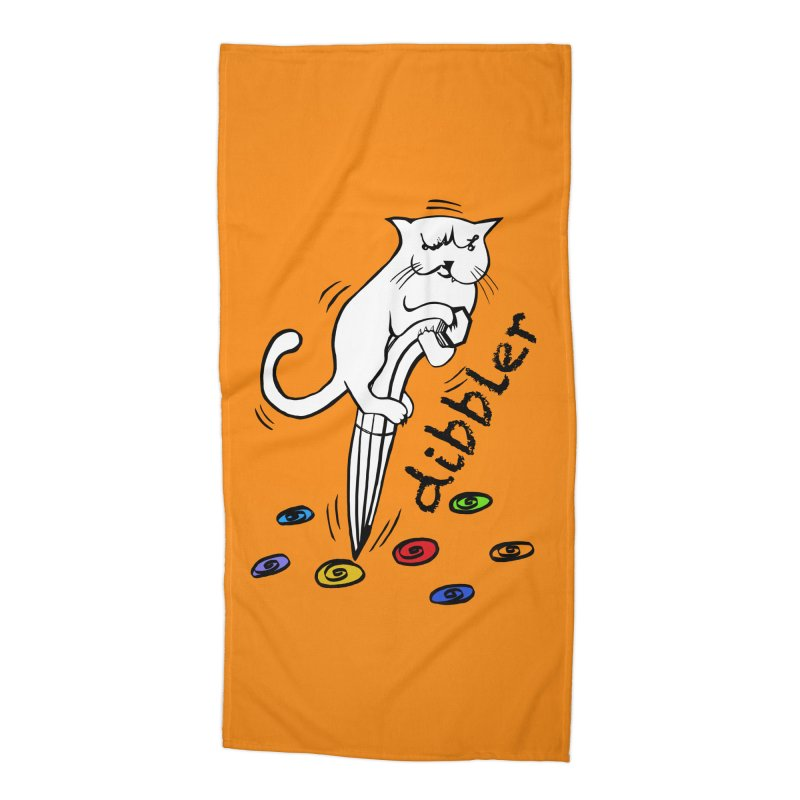 The Dashing Dibbler Accessories Beach Towel by DevilishDetails's Artist Shop