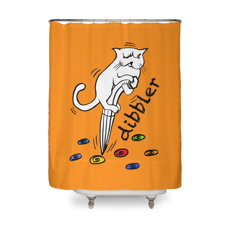 The Dashing Dibbler Home Shower Curtain by DevilishDetails's Artist Shop