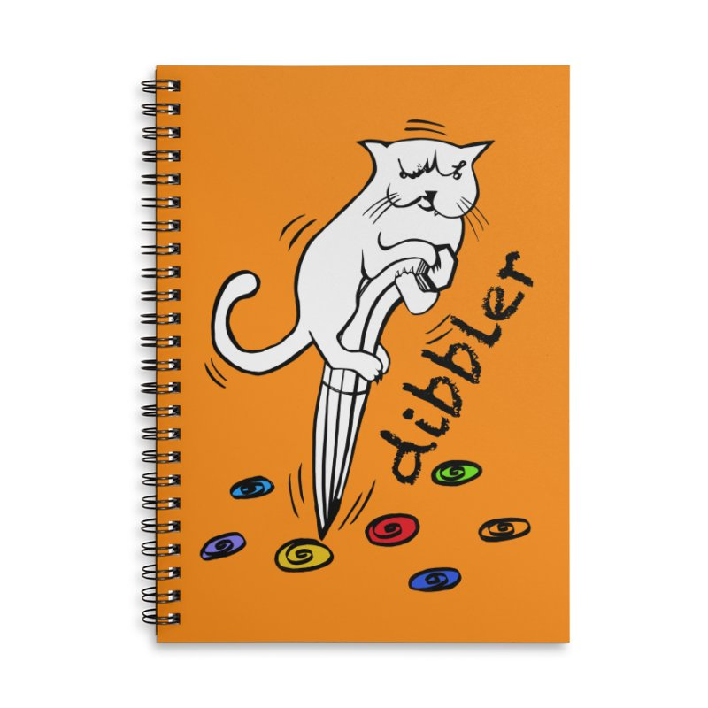 The Dashing Dibbler Accessories Lined Spiral Notebook by DevilishDetails's Artist Shop