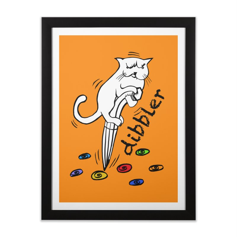 The Dashing Dibbler Home Framed Fine Art Print by DevilishDetails's Artist Shop