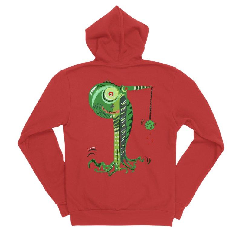 Shillelagh Men's Sponge Fleece Zip-Up Hoody by DevilishDetails's Artist Shop
