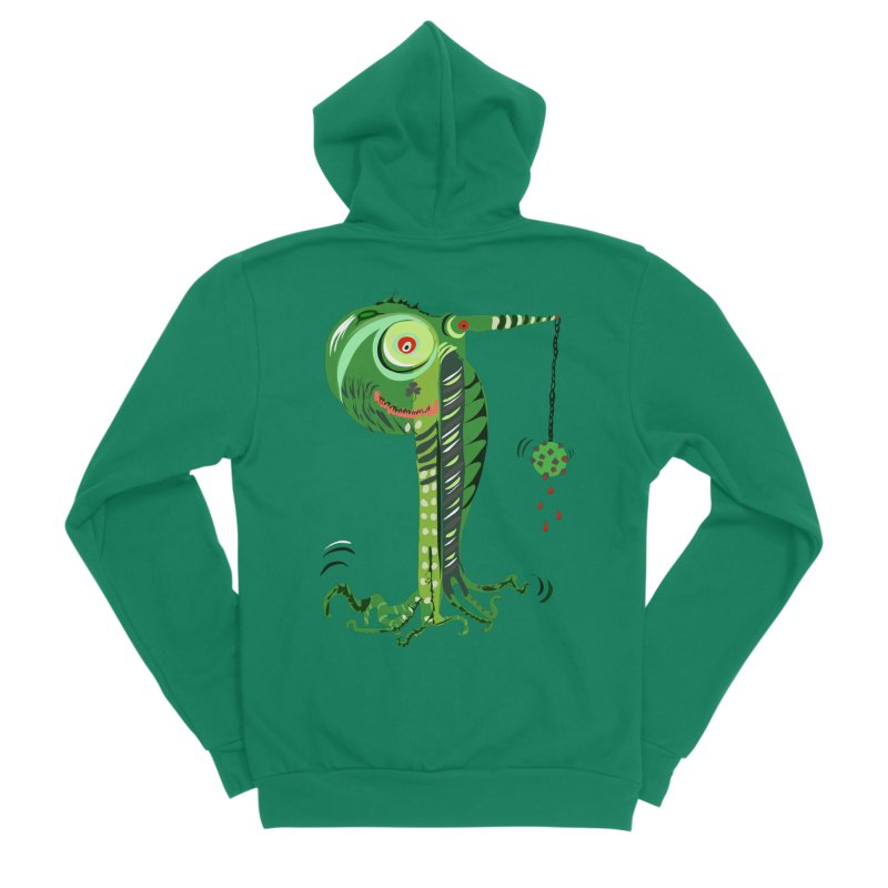 Shillelagh Men's Sponge Fleece Zip-Up Hoody by DevilishDetails's Artist Shop