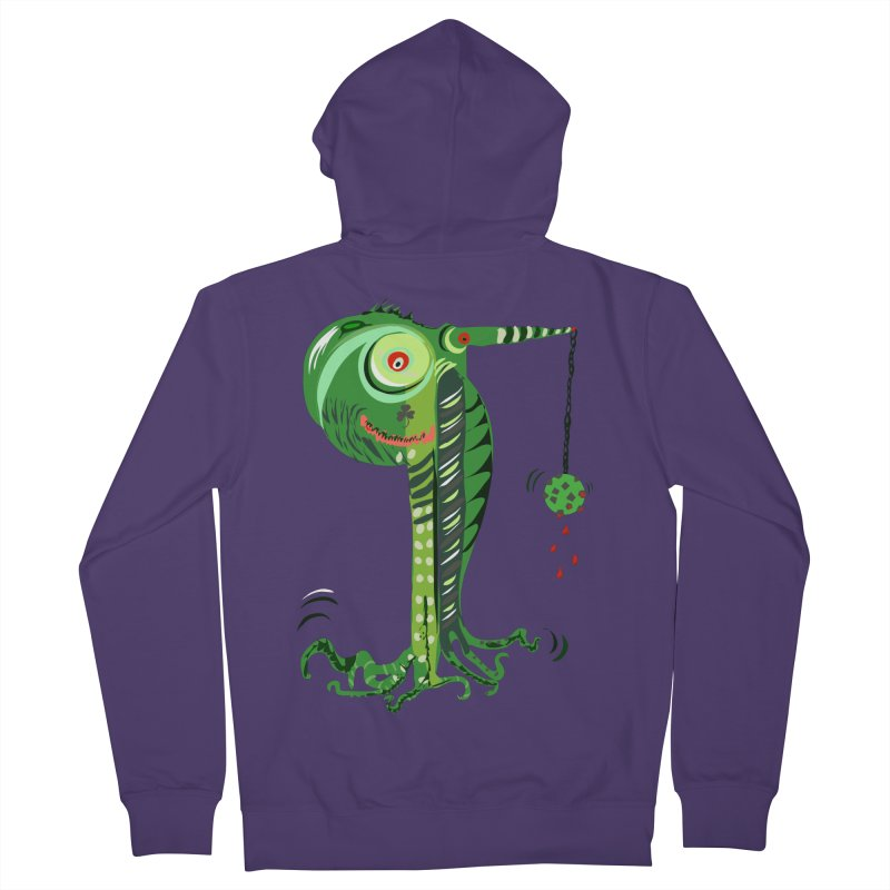 Shillelagh Women's French Terry Zip-Up Hoody by DevilishDetails's Artist Shop