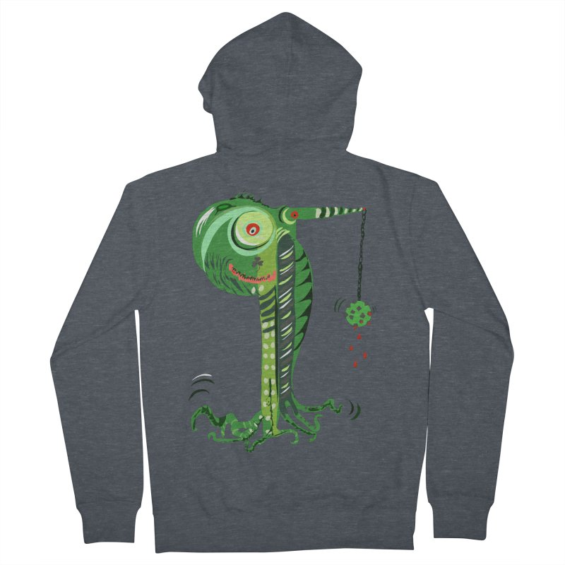 Shillelagh Men's French Terry Zip-Up Hoody by DevilishDetails's Artist Shop