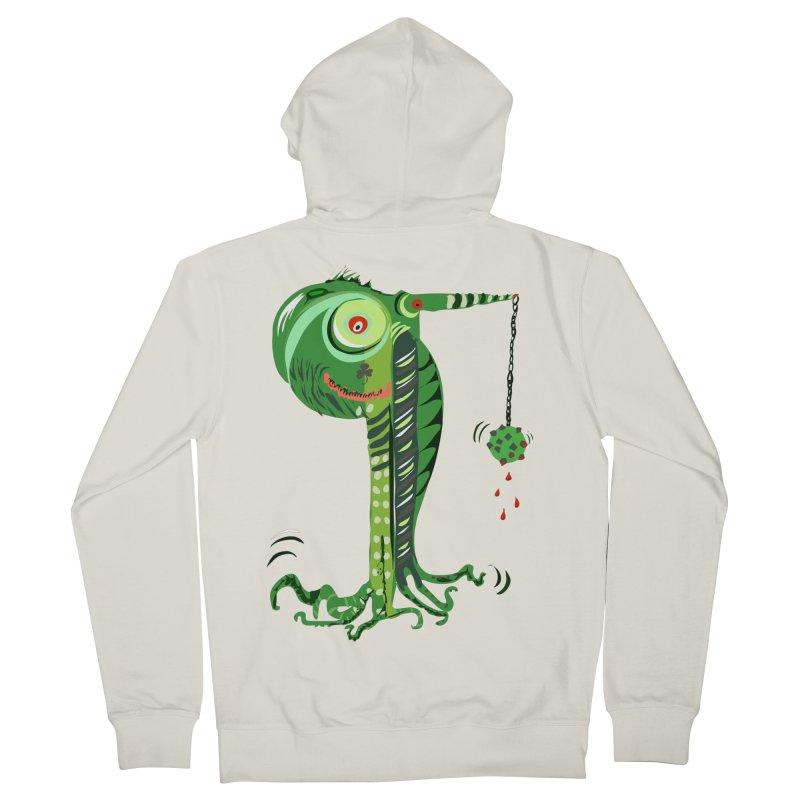 Shillelagh Men's Zip-Up Hoody by DevilishDetails's Artist Shop