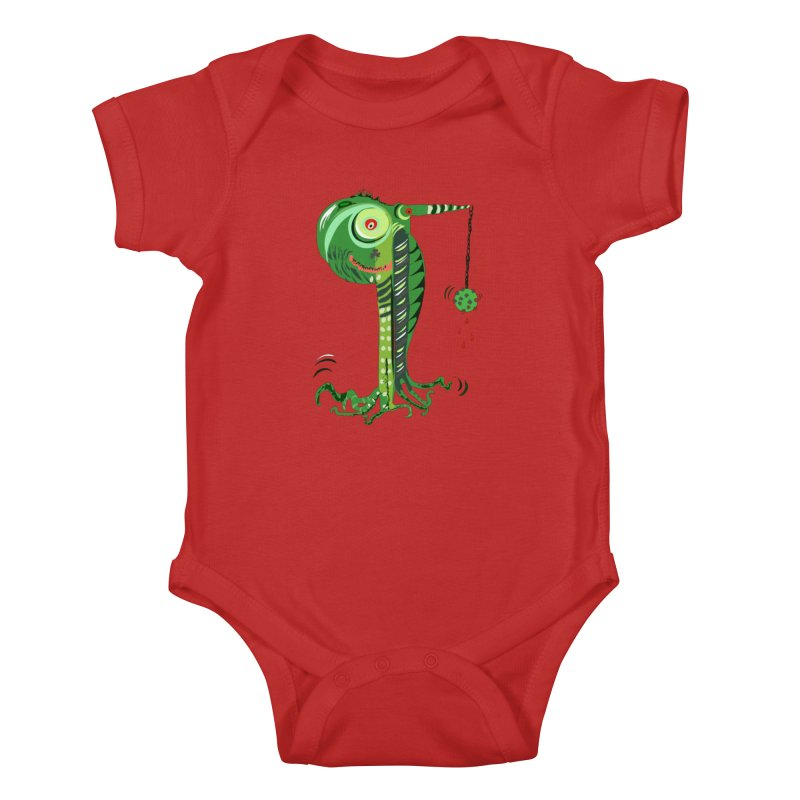 Shillelagh Kids Baby Bodysuit by DevilishDetails's Artist Shop