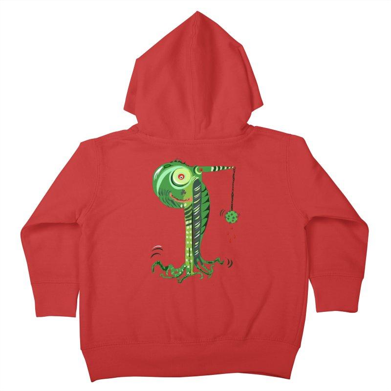 Shillelagh Kids Toddler Zip-Up Hoody by DevilishDetails's Artist Shop