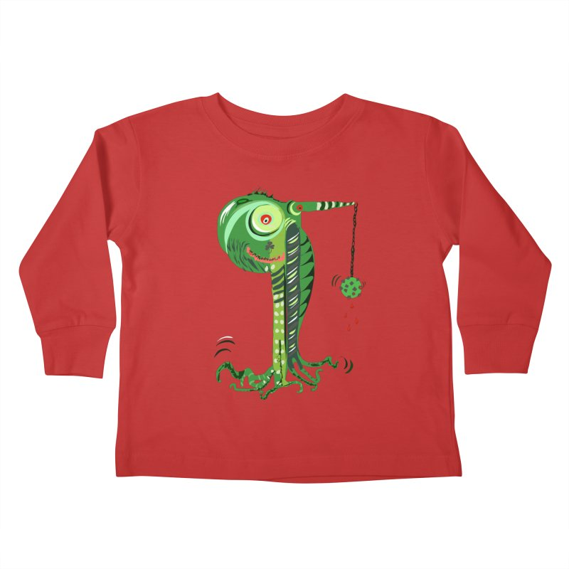 Shillelagh Kids Toddler Longsleeve T-Shirt by DevilishDetails's Artist Shop