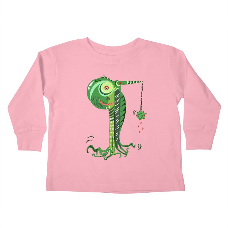 Shillelagh Kids Toddler Longsleeve T-Shirt by DevilishDetails's Artist Shop