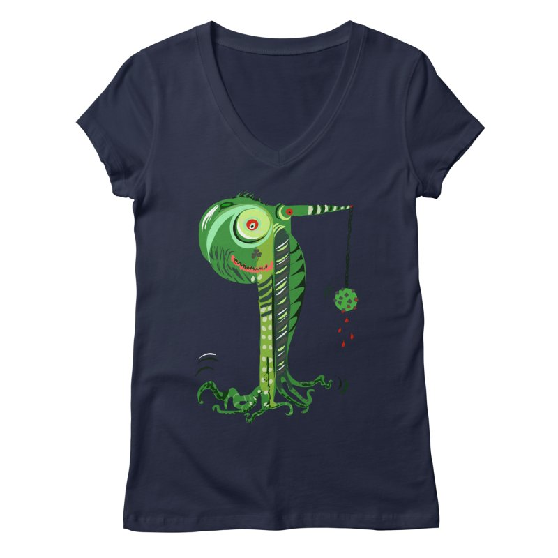 Shillelagh Women's V-Neck by DevilishDetails's Artist Shop