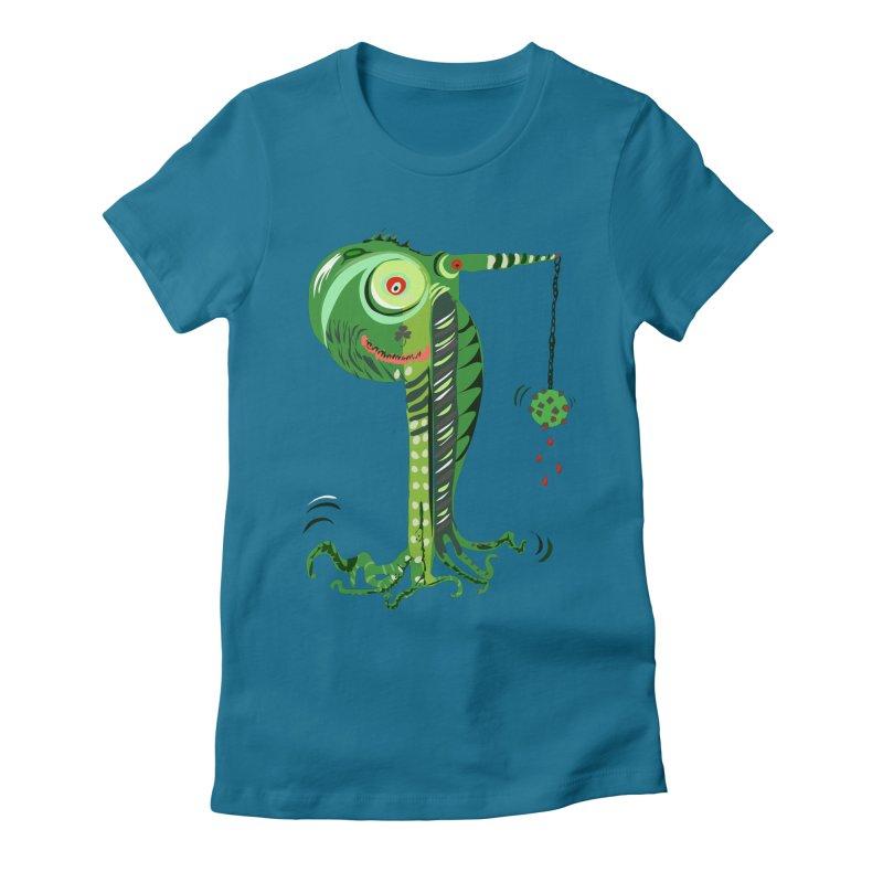 Shillelagh Women's Fitted T-Shirt by DevilishDetails's Artist Shop