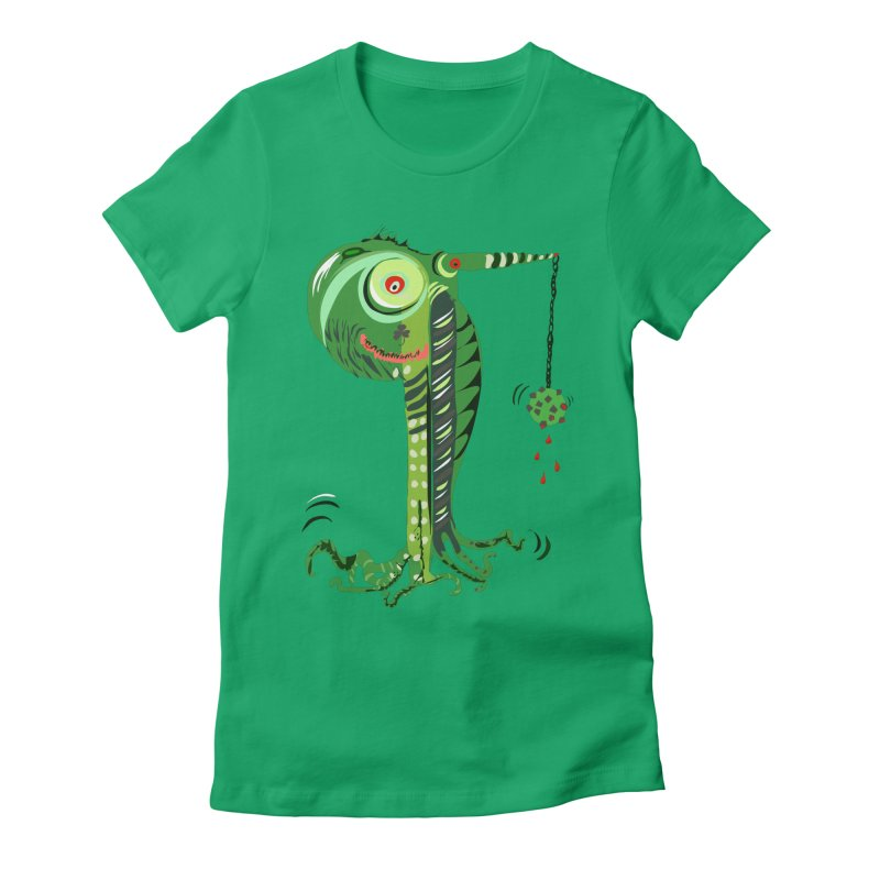Shillelagh Women's Fitted T-Shirt by DevilishDetails's Artist Shop