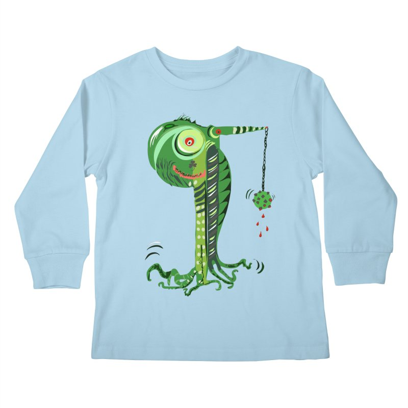 Shillelagh Kids Longsleeve T-Shirt by DevilishDetails's Artist Shop