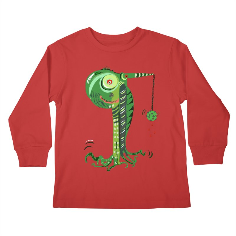 Shillelagh Kids Longsleeve T-Shirt by DevilishDetails's Artist Shop