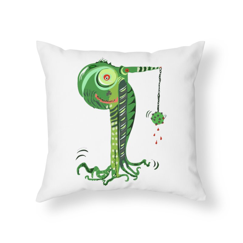 Shillelagh Home Throw Pillow by DevilishDetails's Artist Shop