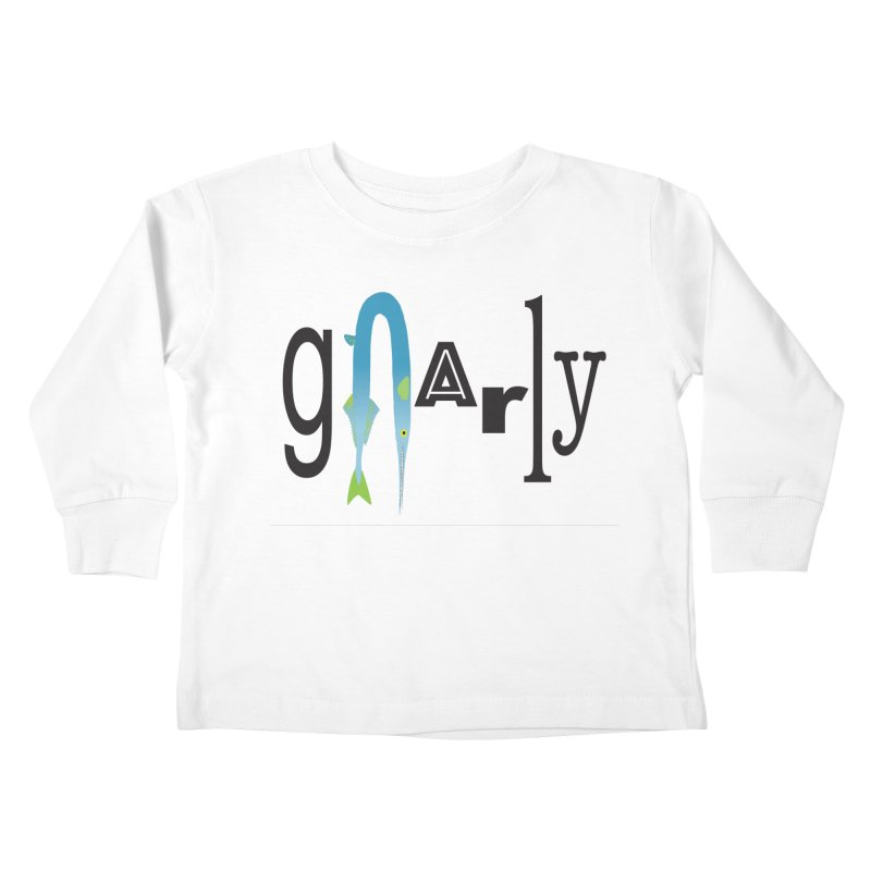 Gnarly Kids Toddler Longsleeve T-Shirt by DevilishDetails's Artist Shop