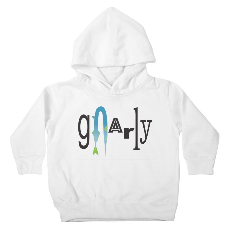 Gnarly Kids Toddler Pullover Hoody by DevilishDetails's Artist Shop