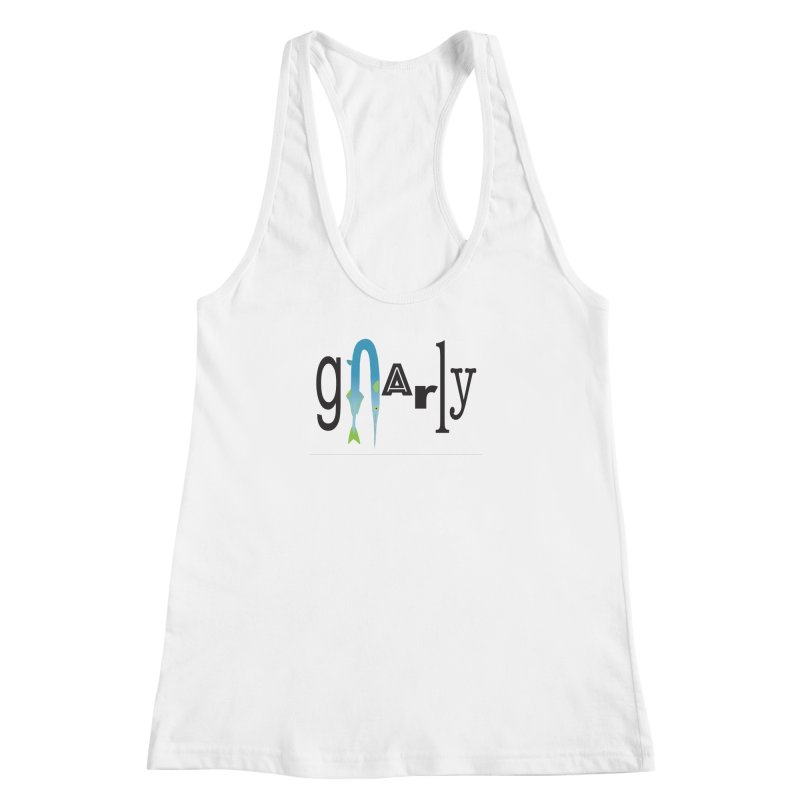 Gnarly Women's Racerback Tank by DevilishDetails's Artist Shop