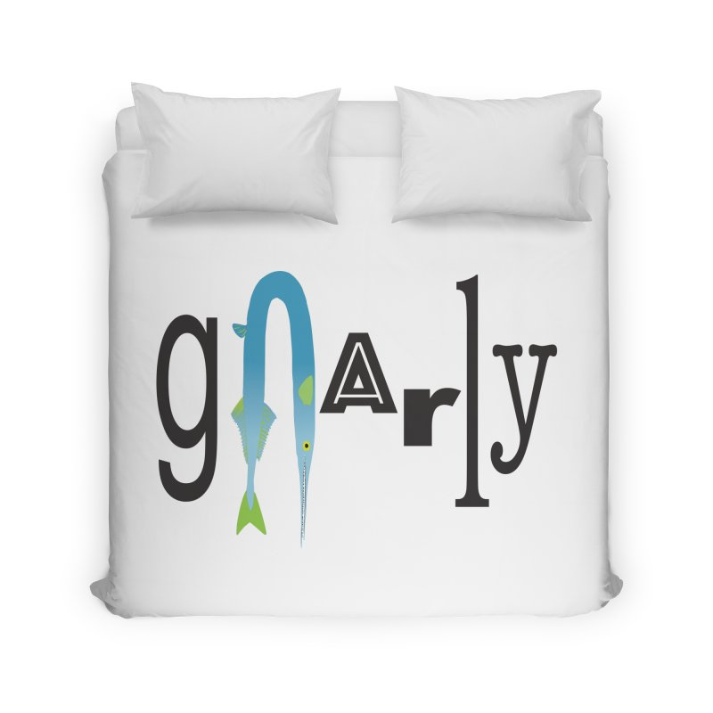 Gnarly Home Duvet by DevilishDetails's Artist Shop