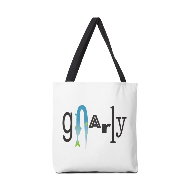 Gnarly Accessories Tote Bag Bag by DevilishDetails's Artist Shop