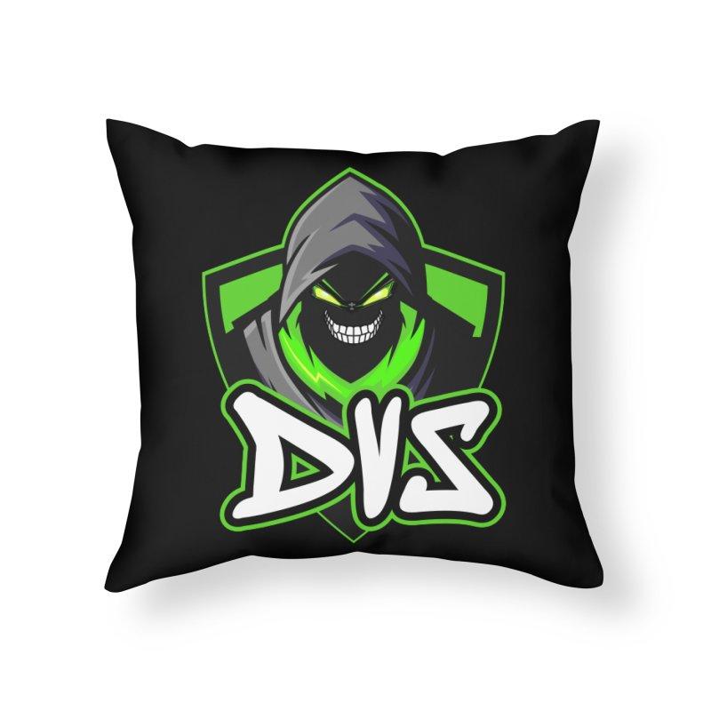 DVS Logo 1 Home Throw Pillow by DeviousGaming's Shop