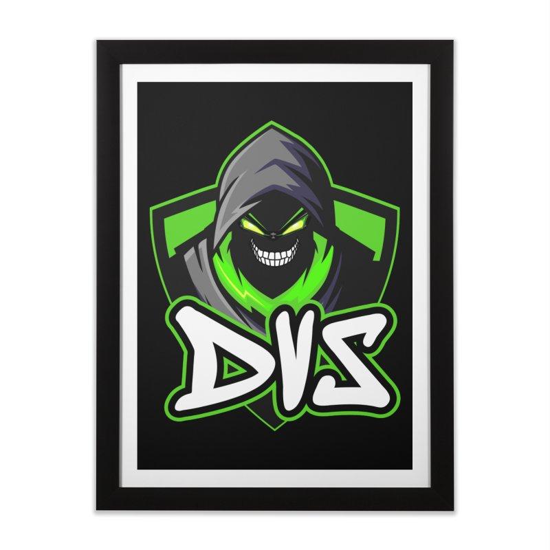 DVS Logo 1 Home Framed Fine Art Print by DeviousGaming's Shop