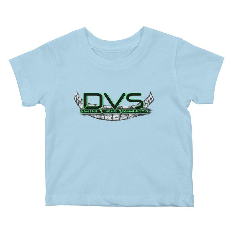 DVS Smile Logo Kids Baby T-Shirt by DeviousGaming's Shop
