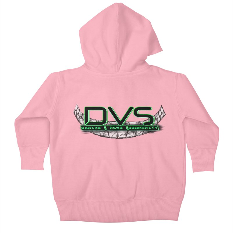DVS Smile Logo Kids Baby Zip-Up Hoody by DeviousGaming's Shop