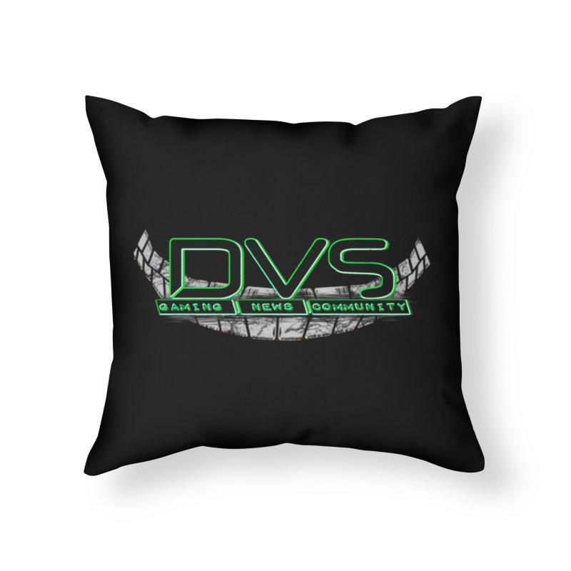 DVS Smile Logo Home Throw Pillow by DeviousGaming's Shop