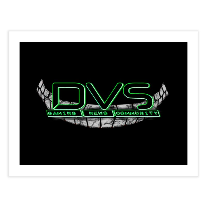 DVS Smile Logo Home Fine Art Print by DeviousGaming's Shop