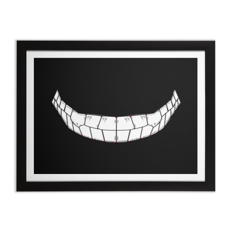 DVS Smile Home Framed Fine Art Print by DeviousGaming's Shop