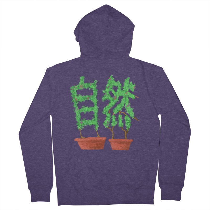 Nature Men's French Terry Zip-Up Hoody by DiegoMRod's Artist Shop