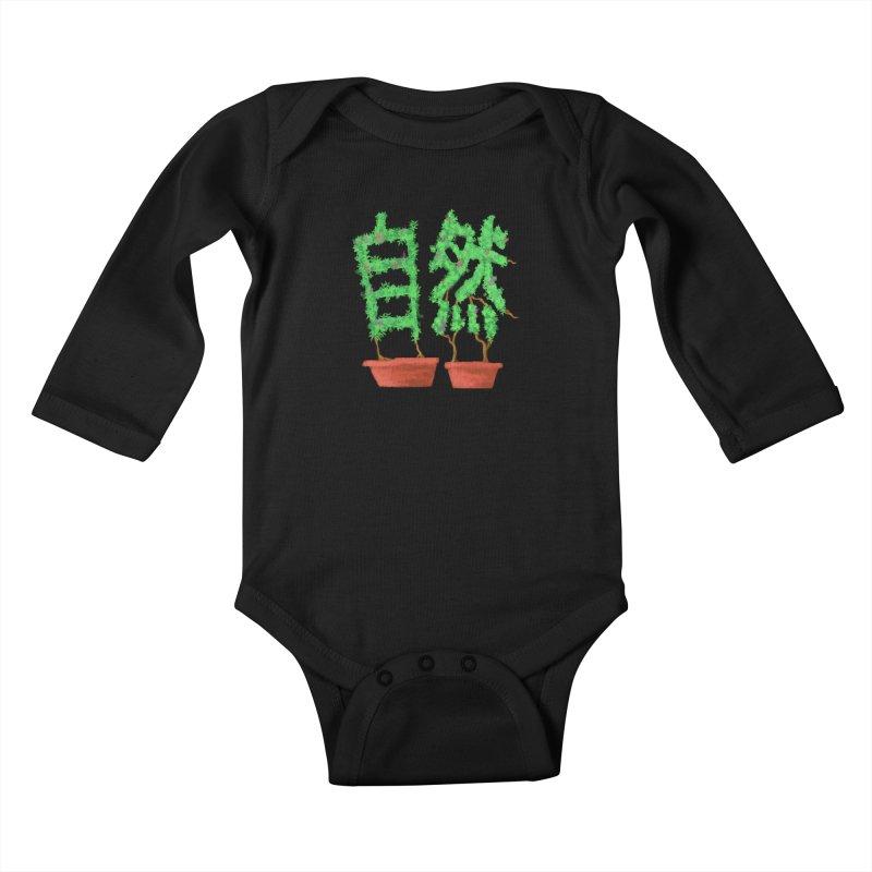 Nature Kids Baby Longsleeve Bodysuit by DiegoMRod's Artist Shop